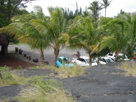 Kalapana Parking lot