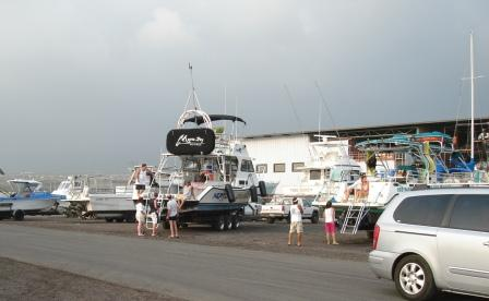 Kona harbor tour boats