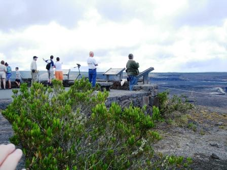 Jagger Museum lookout in Volcanoes National park