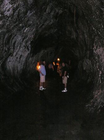 Thurston tube in Volcano National Park